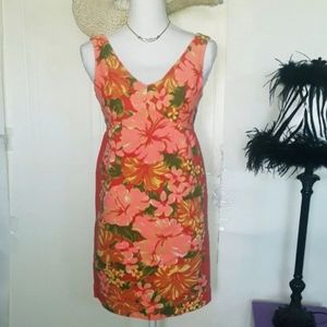 Tracy Feith Sleeveless Floral Dress Size 1